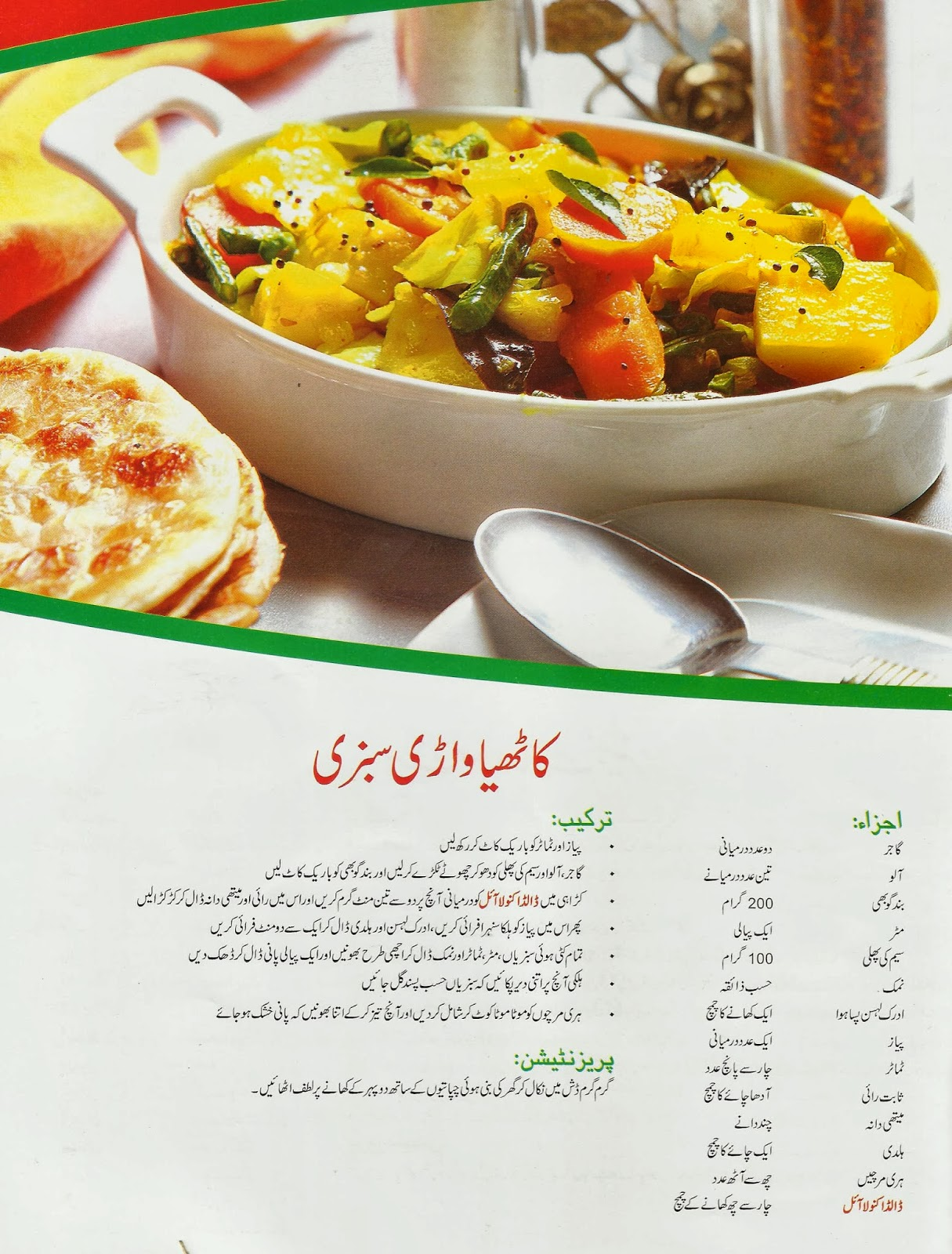 Katheya Wadri Sabzi A New Hot Dish For Vegetarians Cooking Recipe In Urdu Or Hindi