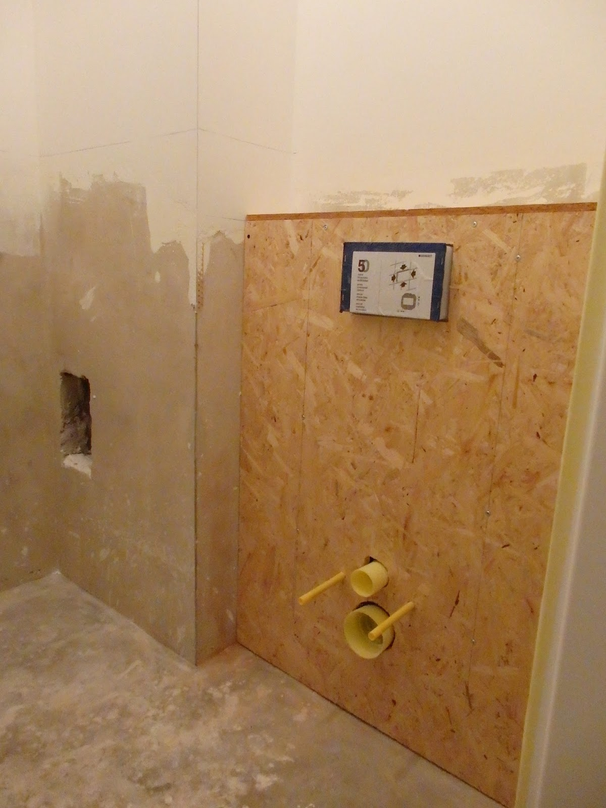 Wiejskie życie łazienki Robią Się