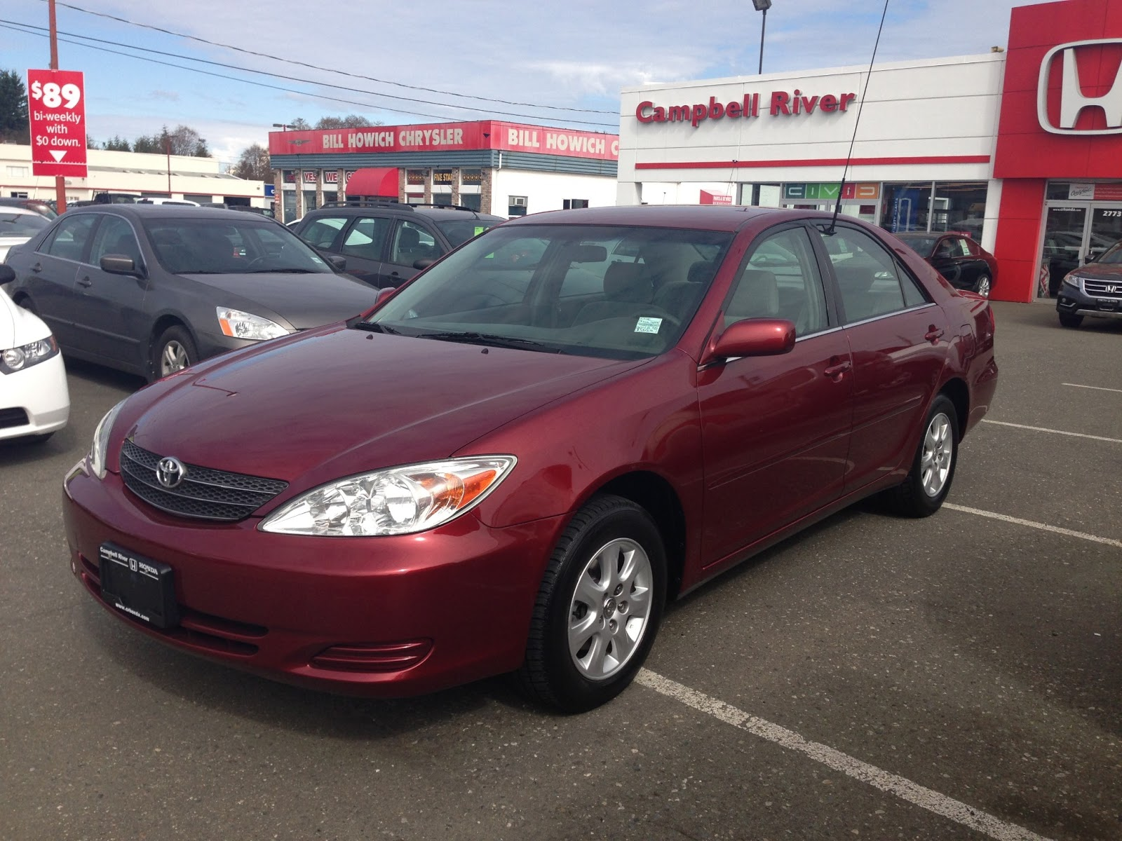 2002 toyota camry le manual sedan