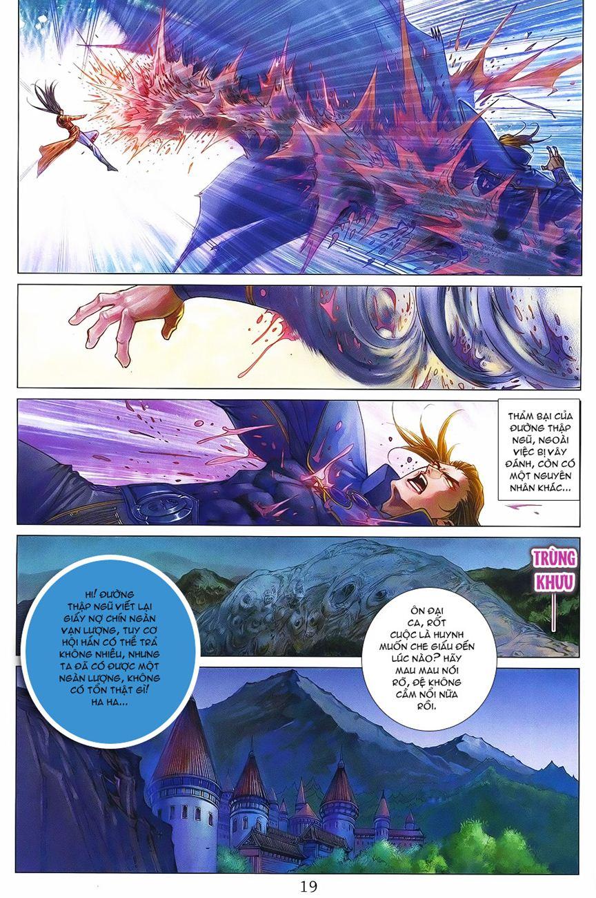 Tứ Đại Danh Bổ chap 371 – End Trang 19 - Mangak.info