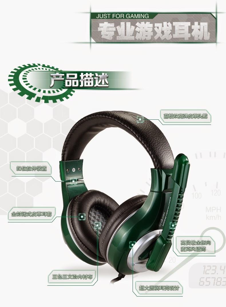 tai nghe gaming ovann x3, songlongmedia, ảnh 2