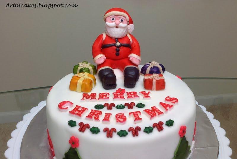 Cake Art Mo : Art Of Cakes: Santa Cake