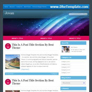 Jovan template blogger. convert wordpress theme to blogger template.wordpress to blogspot template.