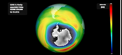 Ozone Hole Over Antarctica Nears Record-Breaking Size Again