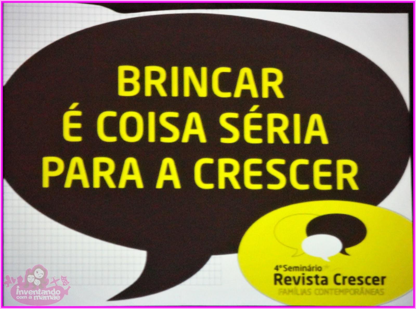 Armario De Quarto Feito De Caixote ~ A Import u00e2ncia do Brincar 4 u00ba Seminário da Revista Crescer Inventando com a mam u00e3e