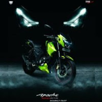 TVS Motor Company Unveils 2012 TVS Apache Series