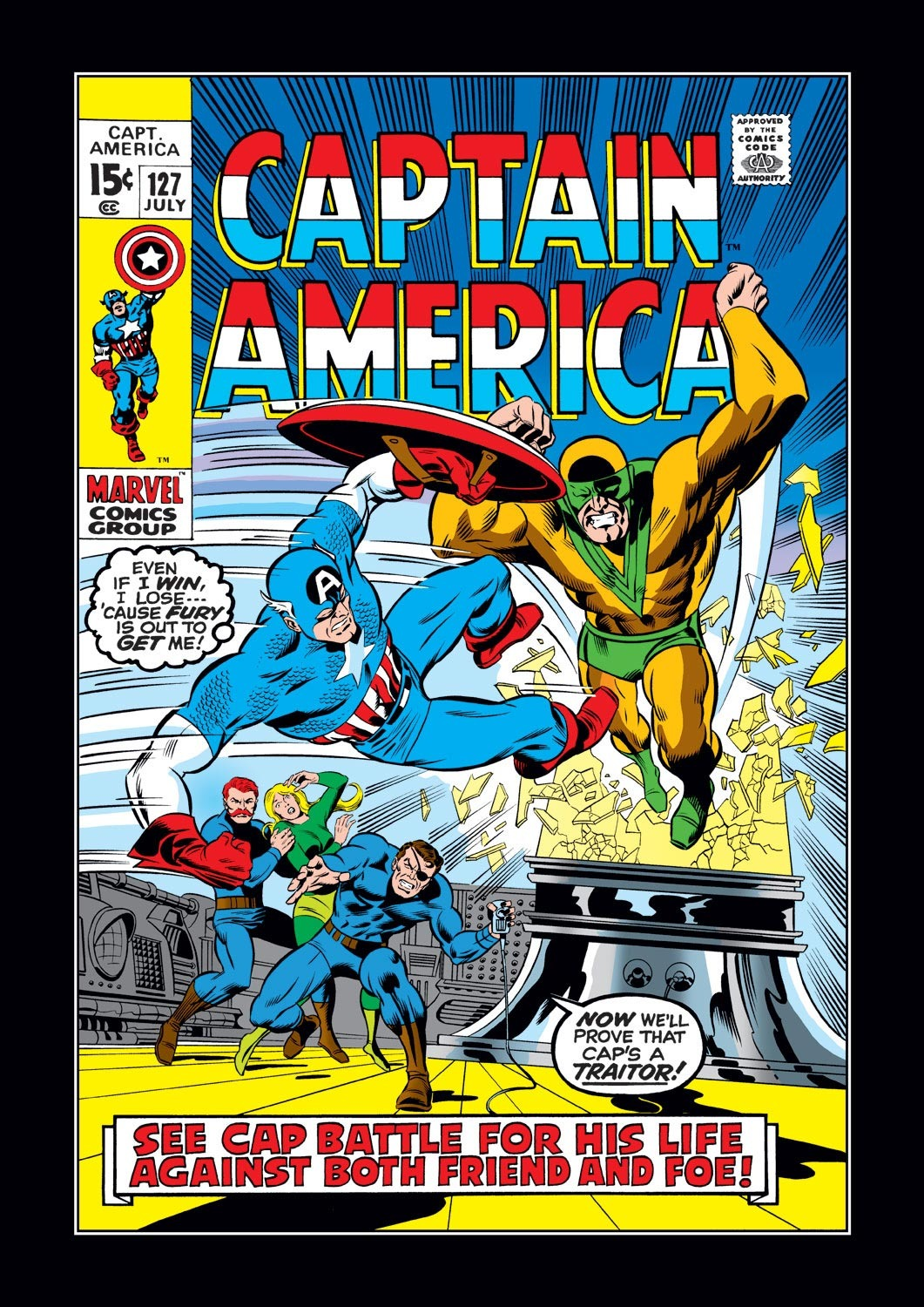 Captain America (1968) Issue #127 #41 - English 1