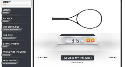 HEAD Personaliza tu raqueta