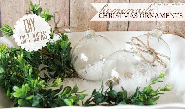 Diy Christmas Ornaments Gift Ideas : Diy christmas ornament ideas love of family home