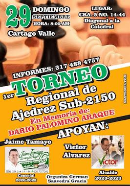 Torneo Regional de Ajedrez Sub-2150 (Dar clic a la imagen)