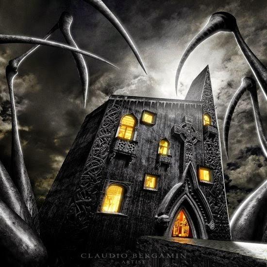 Claudio Bergamin deviantart ilustrações photoshop ficção científica fantasia