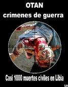 OTAN: asesinos de los pueblos.