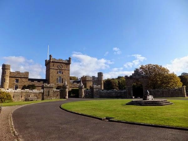 écosse Scotland Ayr Culzean Castle château