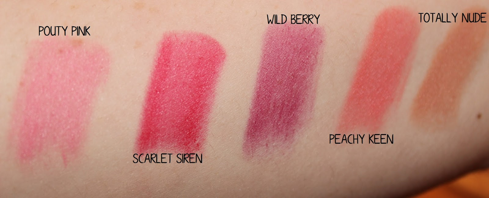 MUA Matte Lipsticks Full Collection & Swatches