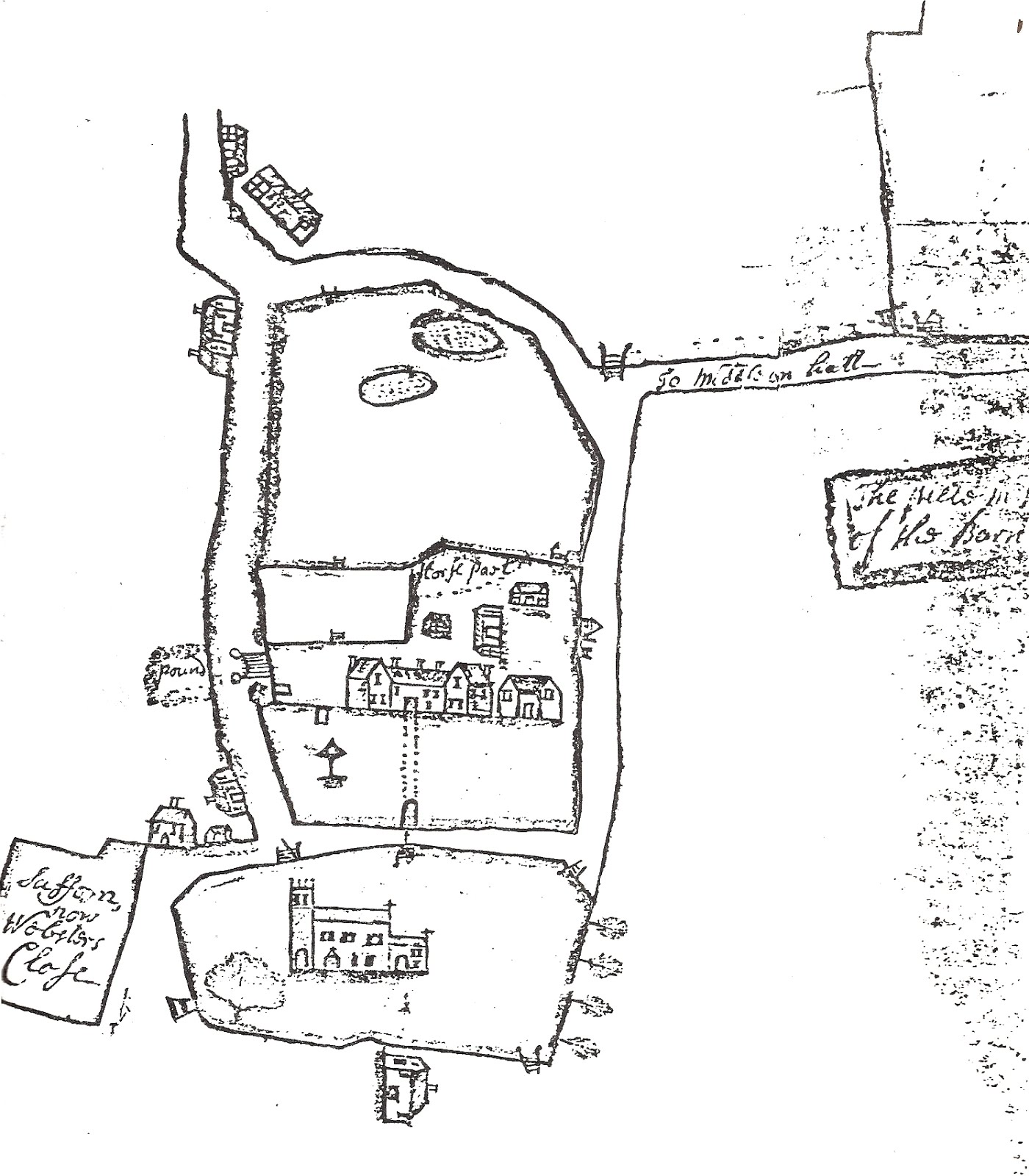 Eighteenth Century Birmingham The Northfield Map Of 1714