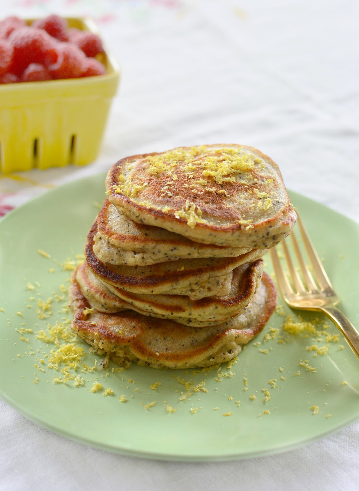 ... in HD: Recipe :: Buttermilk, Lemon, and Poppy Seed Quinoa Pancakes