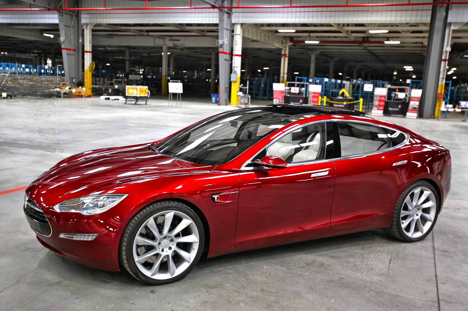 El coche eléctrico Tesla Model S