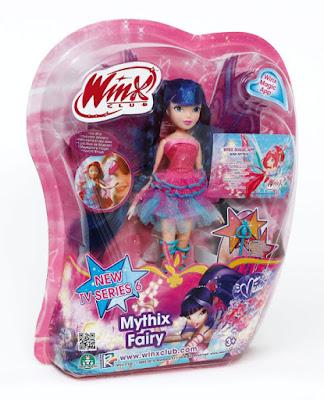 TOYS : JUGUETES - WINX CLUB  Mythix Fairy - Musa | Muñeca - Hada Producto Oficial | Giochi Preziosi | A partir de 3 años Comprar en Amazon España