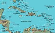 Cinco países más se suman al apoyo hacia la Argentina por Malvinas caribbean map