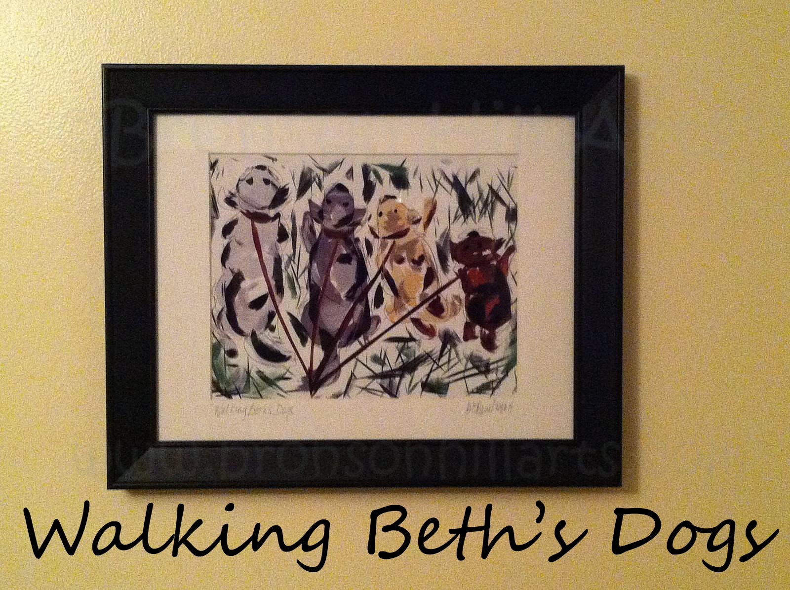 Walking Beth's Dogs