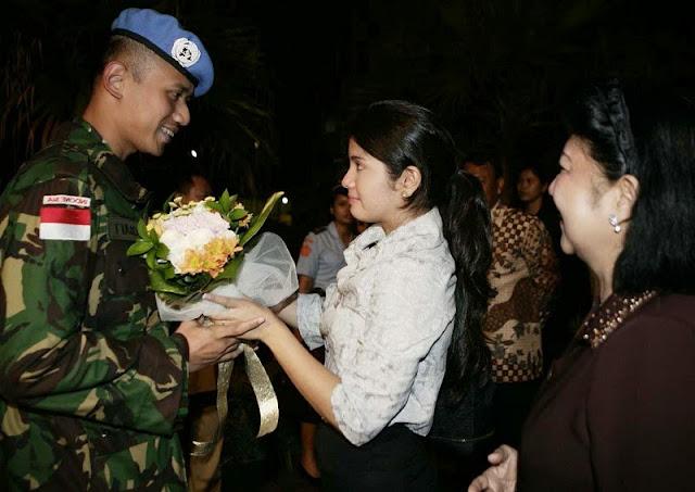 Agus Harimurti Yudhoyono dan Annisa Pohan