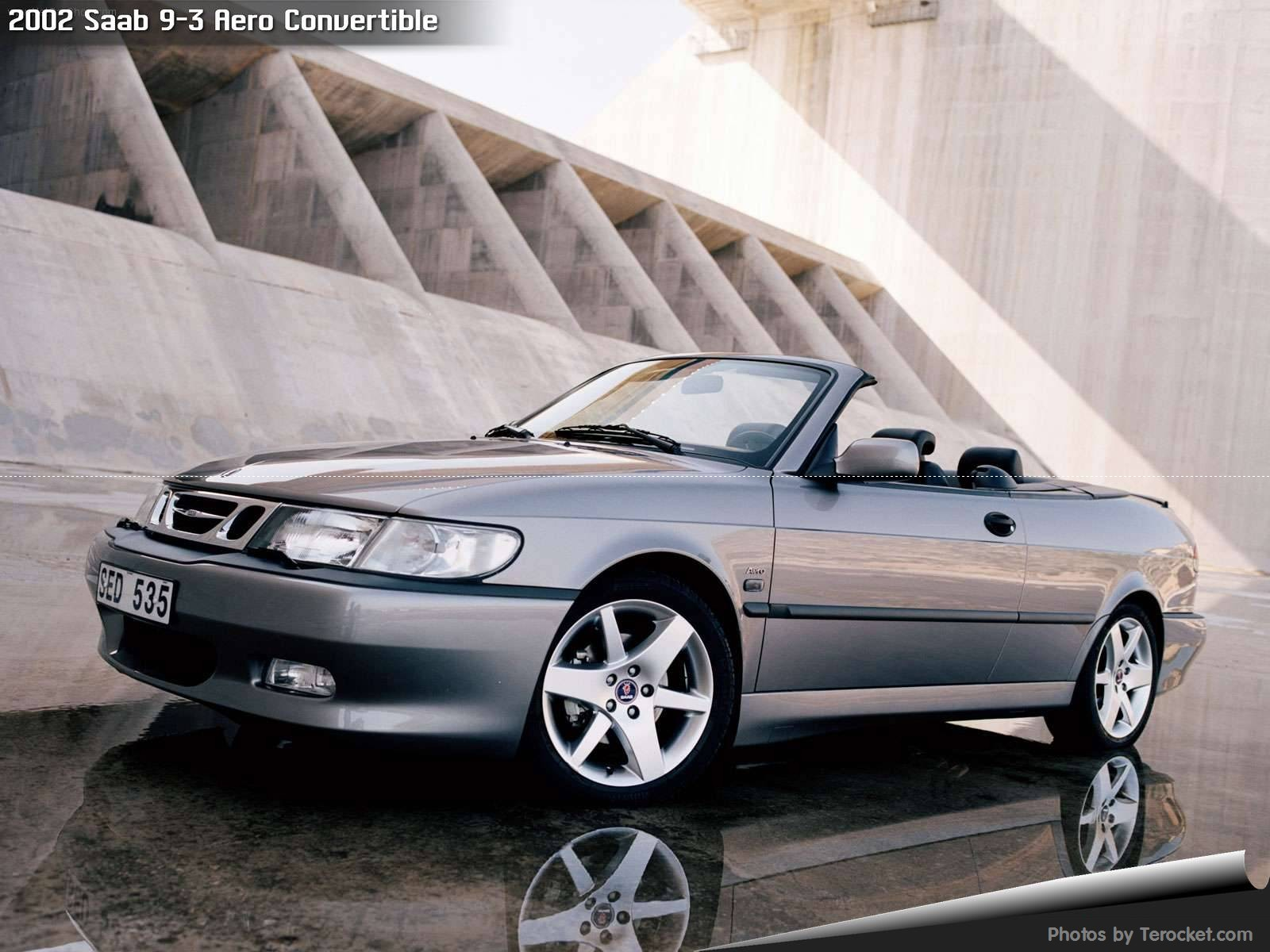 Hình ảnh xe ô tô Saab 9-3 Aero Convertible 2002 & nội ngoại thất
