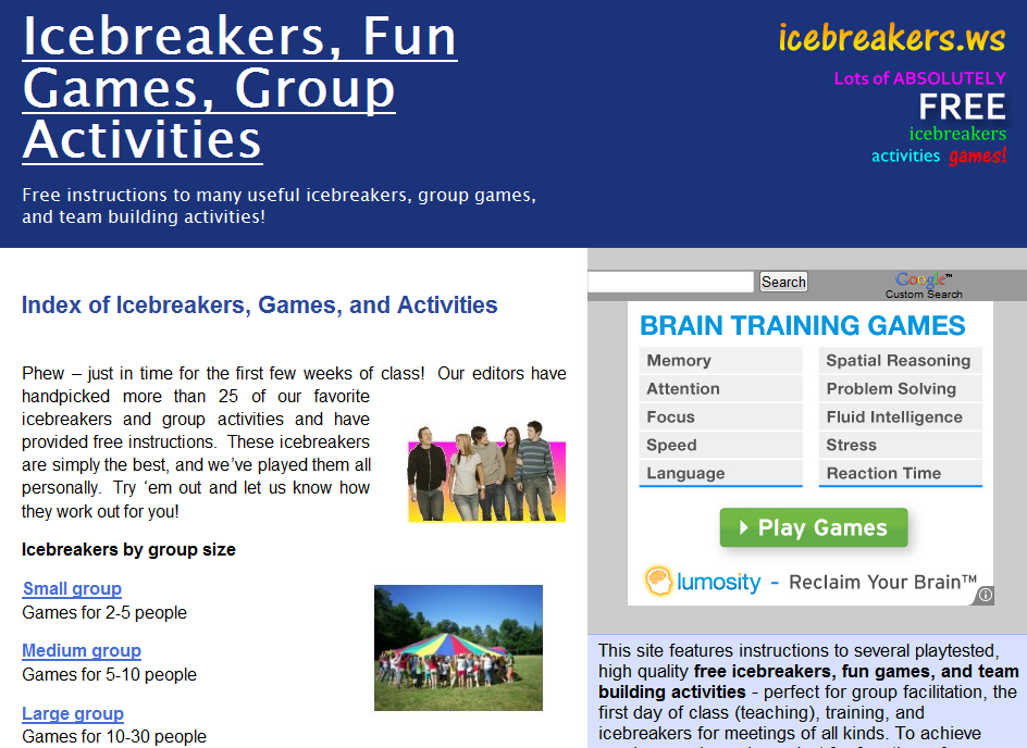 ice breaker activities What am i icebreaker enhance your science curriculum with these activities and discussion questions about insects use the science and language arts.