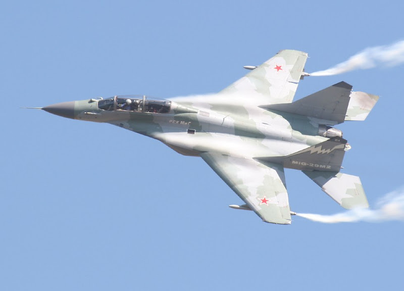 MiG-33 Fulcrum Fighter Bomber Aircraft