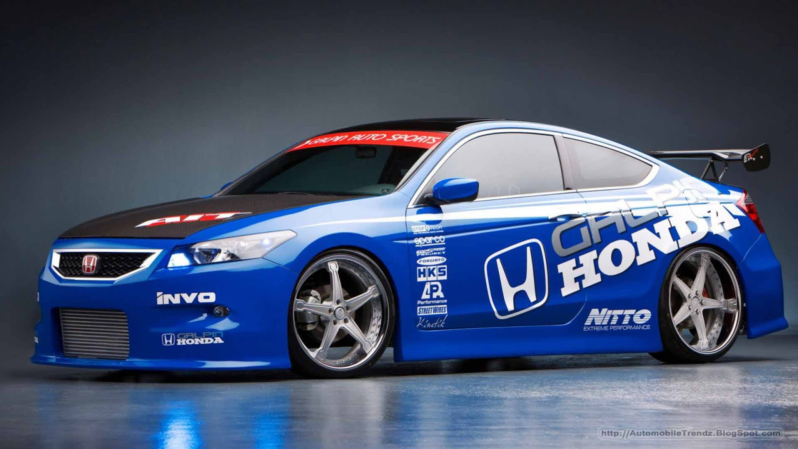 Automobile Trendz: Modified Honda Car Wallpapers