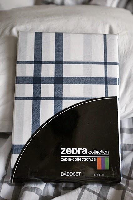 Tävla om ett påslakanset från Zebra collection