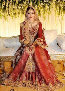 Latest Bridal Dress For Girl In 2011