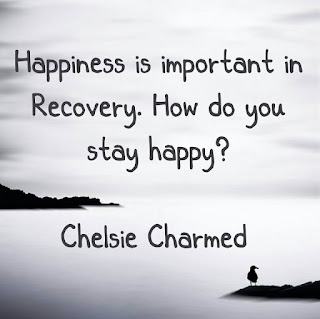 Being Happy in Recovery Quote