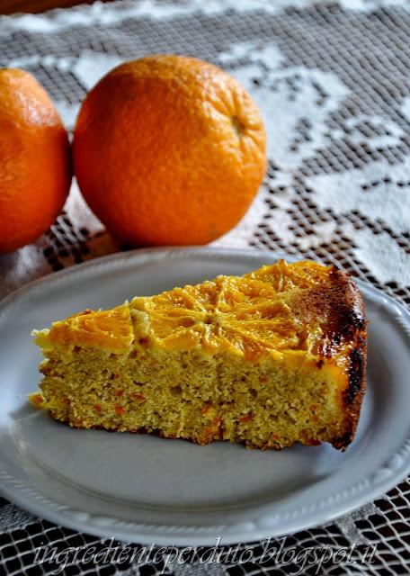 torta con farina di mais e arance-ingrediente perduto