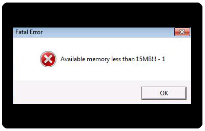 Available memory