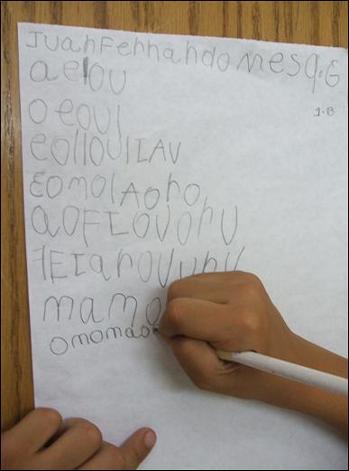 Jugando con Transición: HIPÓTESIS EN EL PROCESO LECTOESCRITO