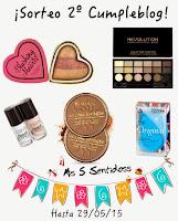 """Sorteo en el blog """"Mis 5 Sentidos"""""""