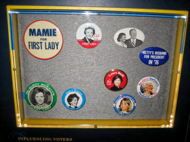 first lady; USA; smithsonian exhibits; elections