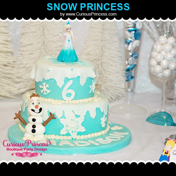Elsa Frozen Birthday Party Ideas
