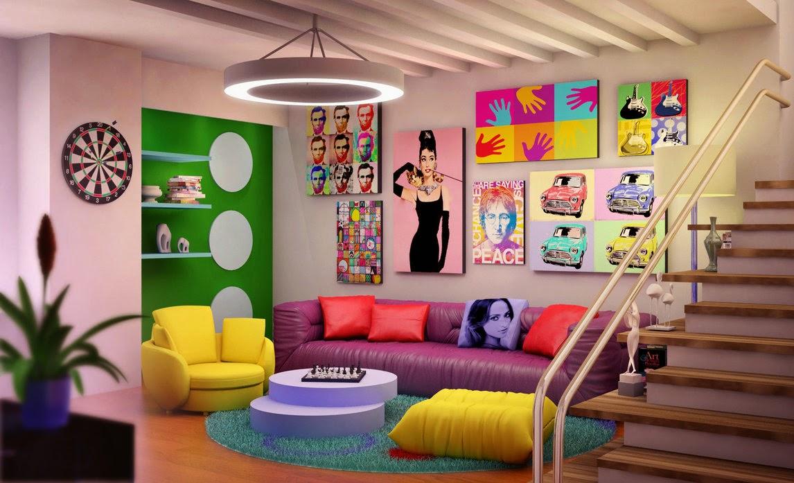 Estilos Decoracion Kitsch ~ Heteruf Designs Decoraci?n Estilo Kitsch Pop Art