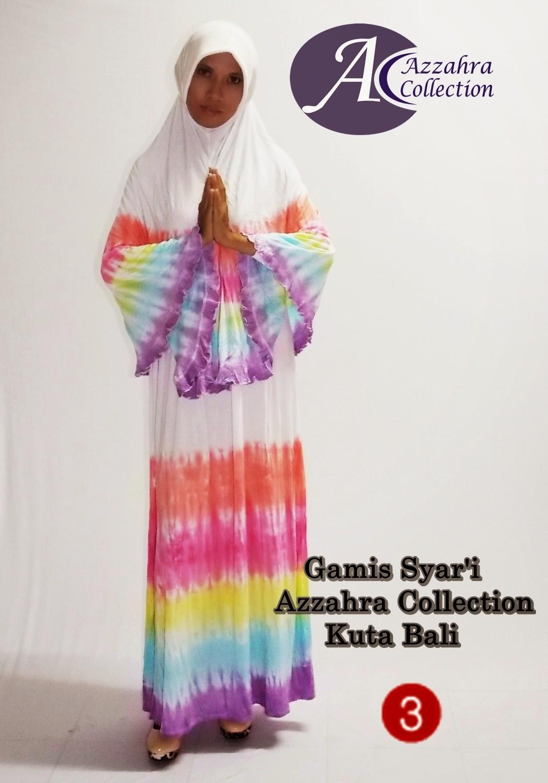 Mukena Bali Dress Gamis Baju Bali Busana Muslim Murah