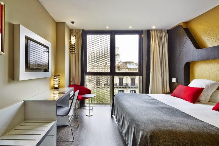 Hotel Vincci Gala Barcelona, por el estudio Tekno-Bau Ibérica (TBI)