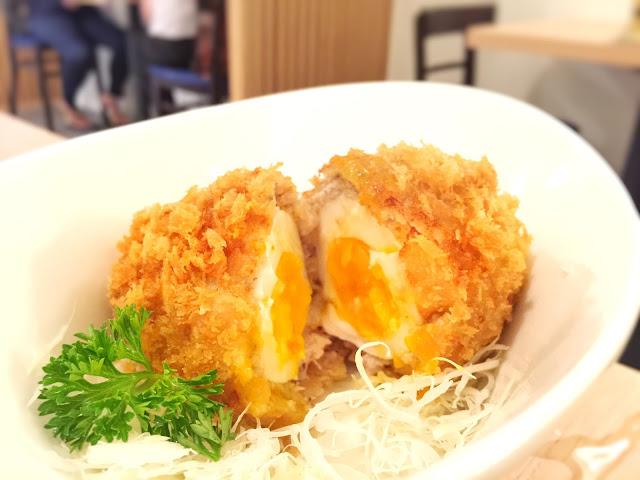 Imakatsu Boat Quay - PIYOPIYO Minced Meat Cutlet