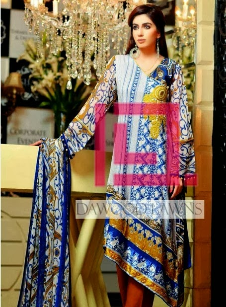 Casual Wear Lawn Prints by Dawood Liali