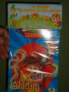 Lembrancinha Dia das Crianças Livro Infantil