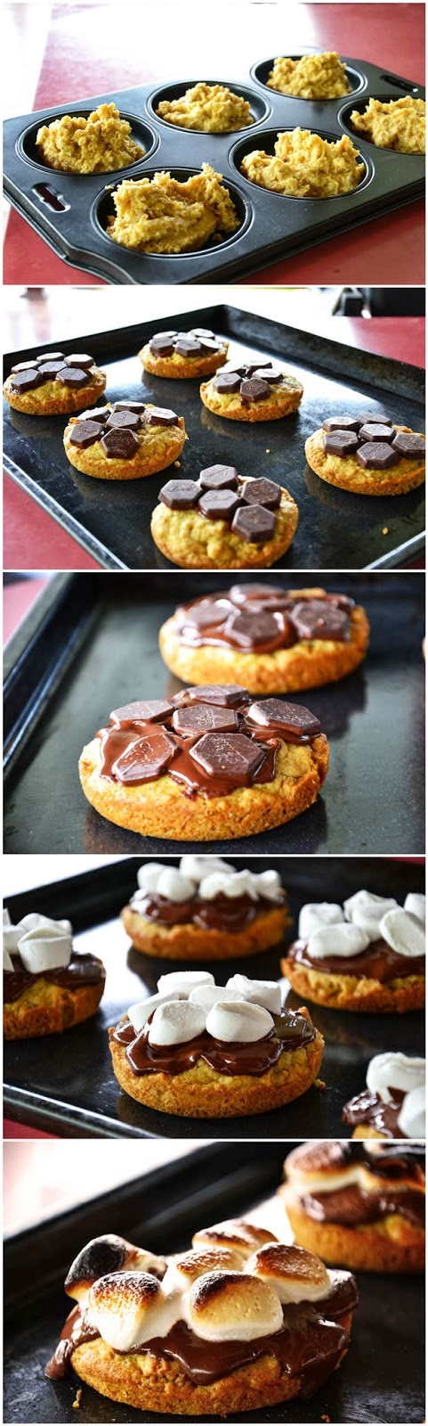 S'mores Deep Dish Cookie