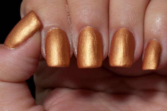 Pure Ice Crushed Gold Matte