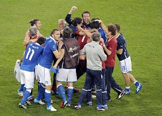 Resultado Inglaterra vs Italia – Eurocopa 2012
