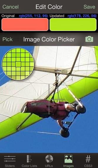 Palettes iPad App