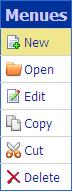 ASP.NET Simple Dropdown Menu using GridView Control