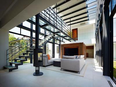 Rumah Modern Ala Jepang 5